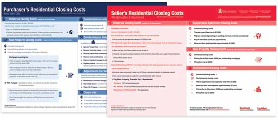 Purchasers Sellers Residential Real Estate Closing Cost Guide