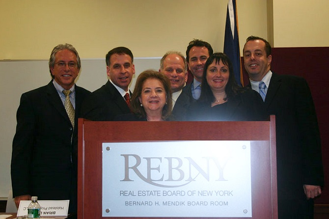 Jerry M. Feeney at REBNY Broker of the Year