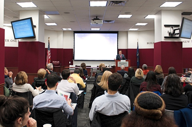 Jerry M. Feeney teaches Fair Housing at REBNY