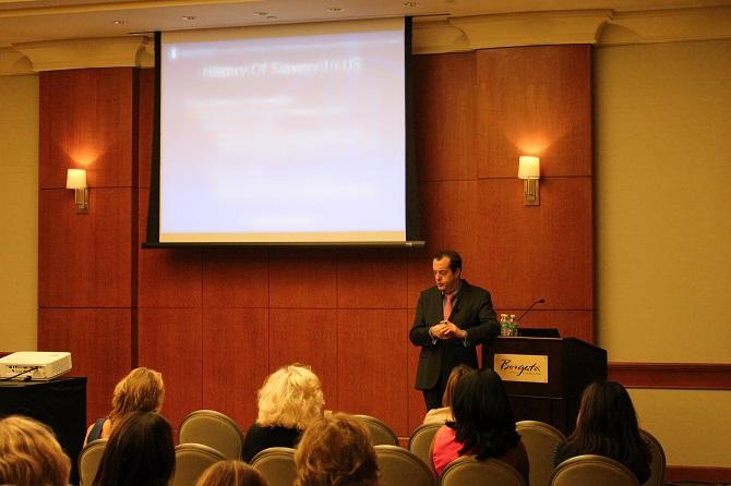 Jerry M. Feeney teaching at the Borgata in Atlantic City